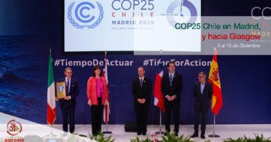 De la COP25 Chile Madrid a Glasgow