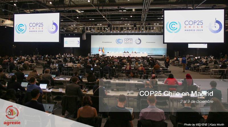 Primera semana COP25 Chile en España