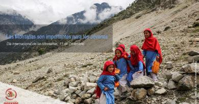 Las montañas son importantes para los jóvenes